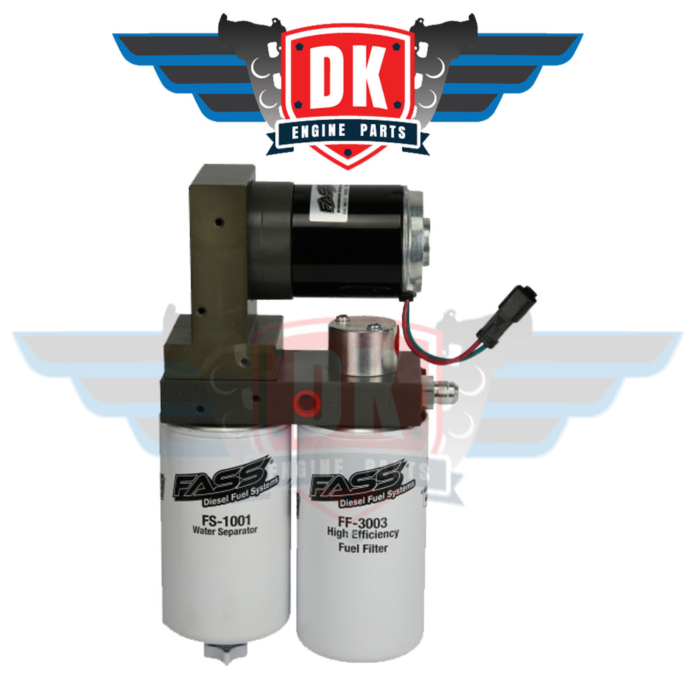 Fuel System Titanium Series 125GPH - T F14 125G - FASS